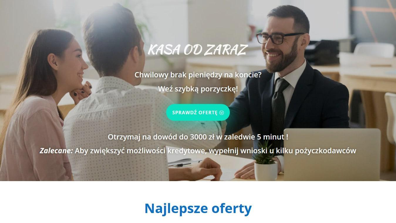 Kasa od Zaraz projekt Divi