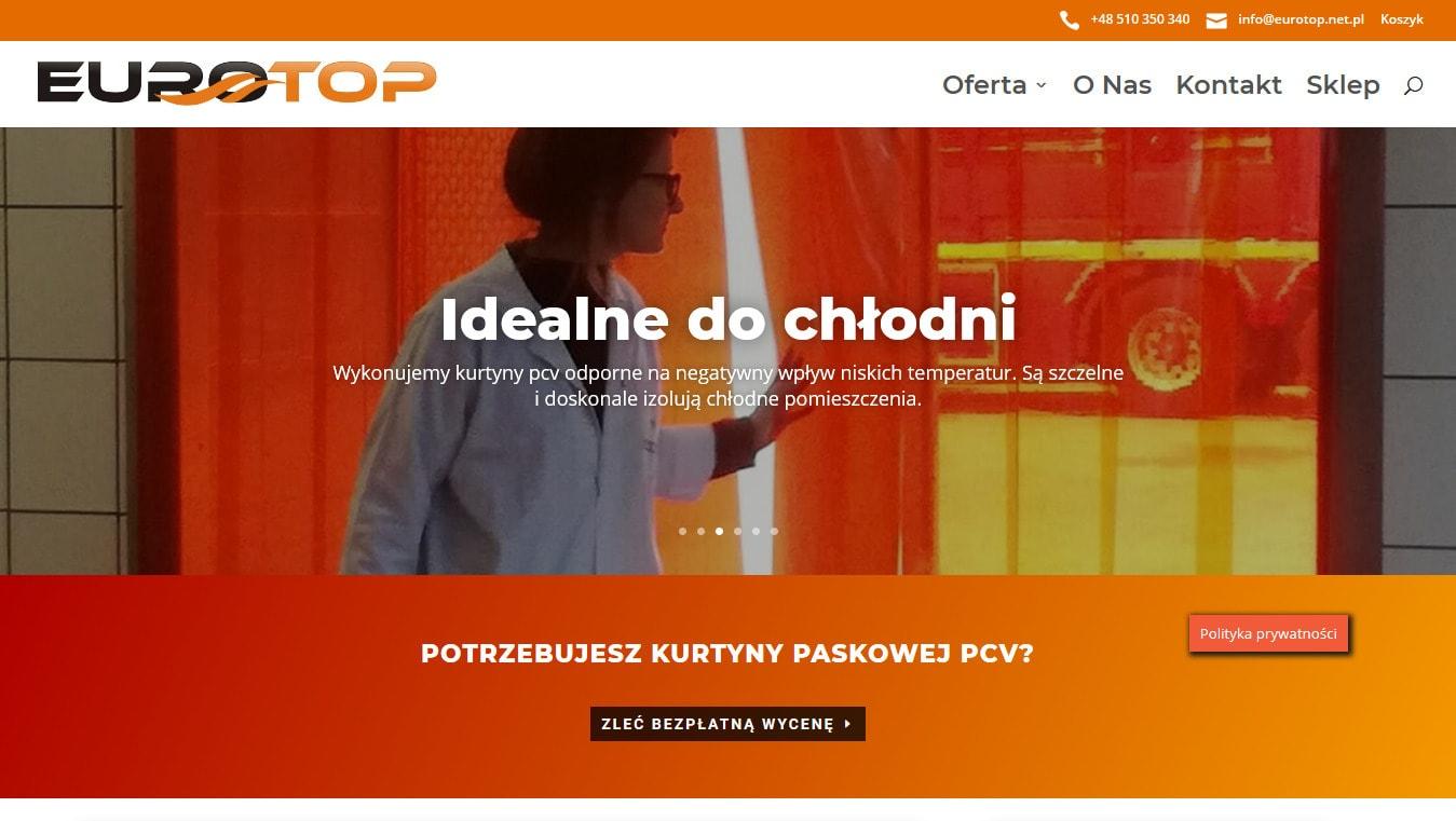 eurotop.net.pl projekt divi